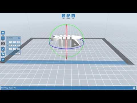 Using the Flashforge Creator Pro 3D Printers - BASICS - YouTube