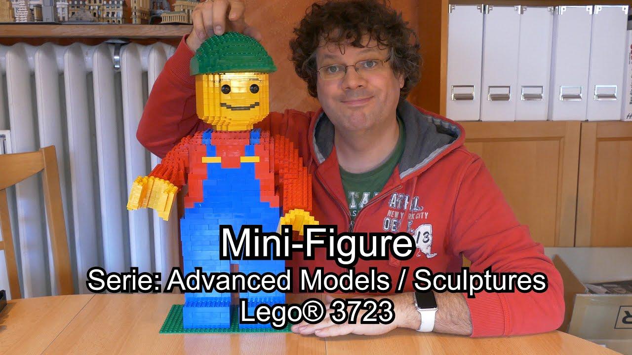 gro e lego mini figure von 2000 im review set 3723 advanced sculptures 4k youtube. Black Bedroom Furniture Sets. Home Design Ideas