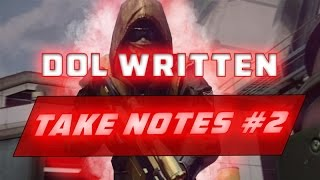 DoL Written | Writtens Notes #2 | By Royal Rookie