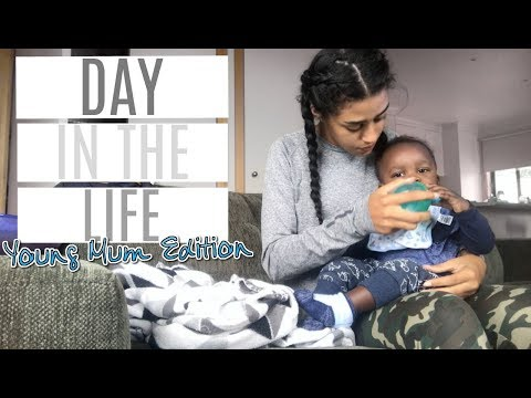DAY IN THE LIFE OF A YOUNG MUM IN SCHOOL ♡ MARCH 2018