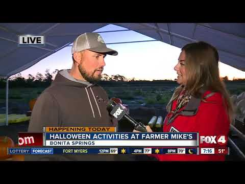 Farmer Mike's celebrates Halloween in Bonita Springs