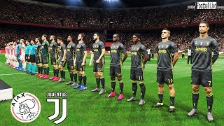 PES 2019 | AJAX vs JUVENTUS | UEFA Champions League (UCL) | Gameplay PC