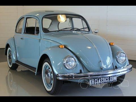 Volkswagen Beetle 1300S 1973 -VIDEO- www.ERclassics.com