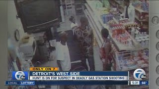 Deadly gas station shooting caught on tape