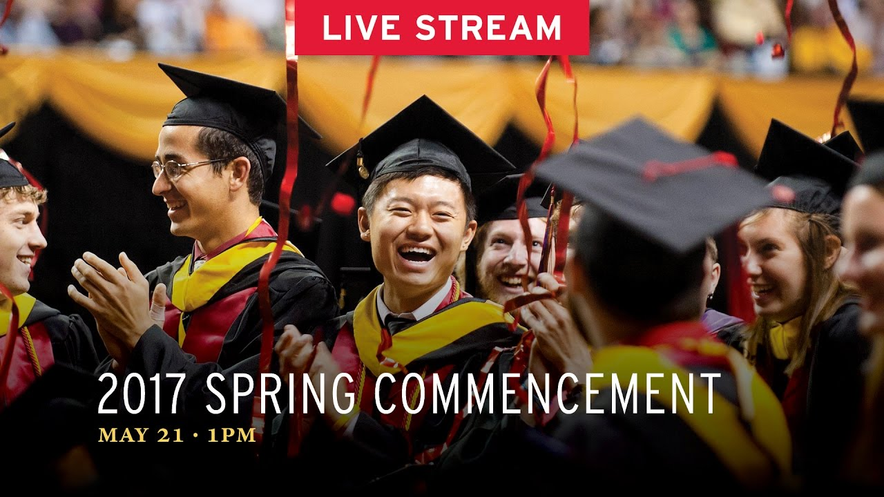 2017 Spring Commencement - YouTube
