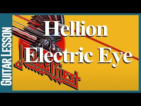 Hellion / Electric Eye By Judas Priest - Guitar Lesson Tutorial