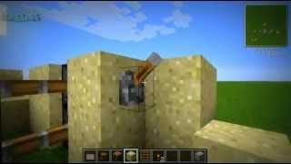 Tutorial Minecraft: Como hacer Super Escondites, Habitaciones Secretas, Cofres y más.