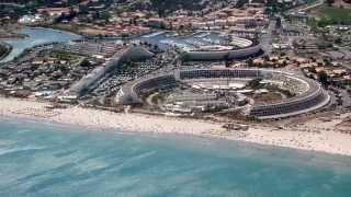 Cap d'Agde plage, France