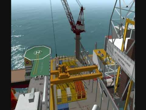 Offshore Crane Simulation