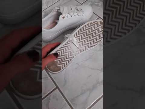 save off fa8a4 fd8cc Tom Tailor Weiße Mädchen Schuhe mit Rosenmuster Größe 40 Sneaker von Caro