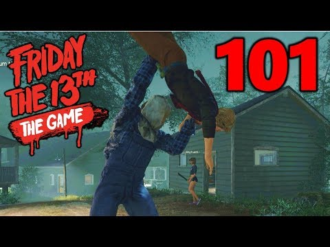 [101] Super Chad Can Fly!!! (Let's Play Friday The 13th The Game)