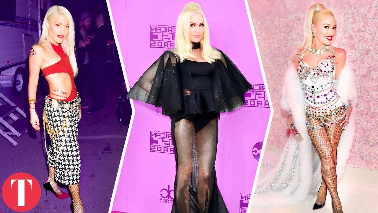 Gwen Stefani's Fashion Evolution From The 1980s To Today