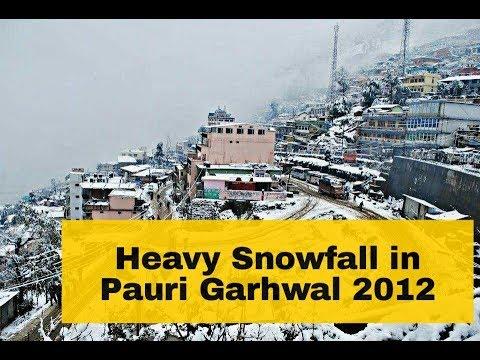Snowfall in pauri garhwal,meru pahad,uttarakhand india by Pahadi Corner