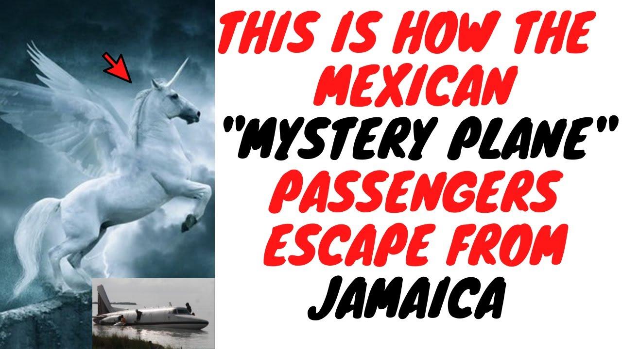Jamaican Government Confirms That Mystery Plane Passengers Dem Escape