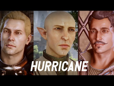 cullen + solas + dorian & inquisitors | hurricane