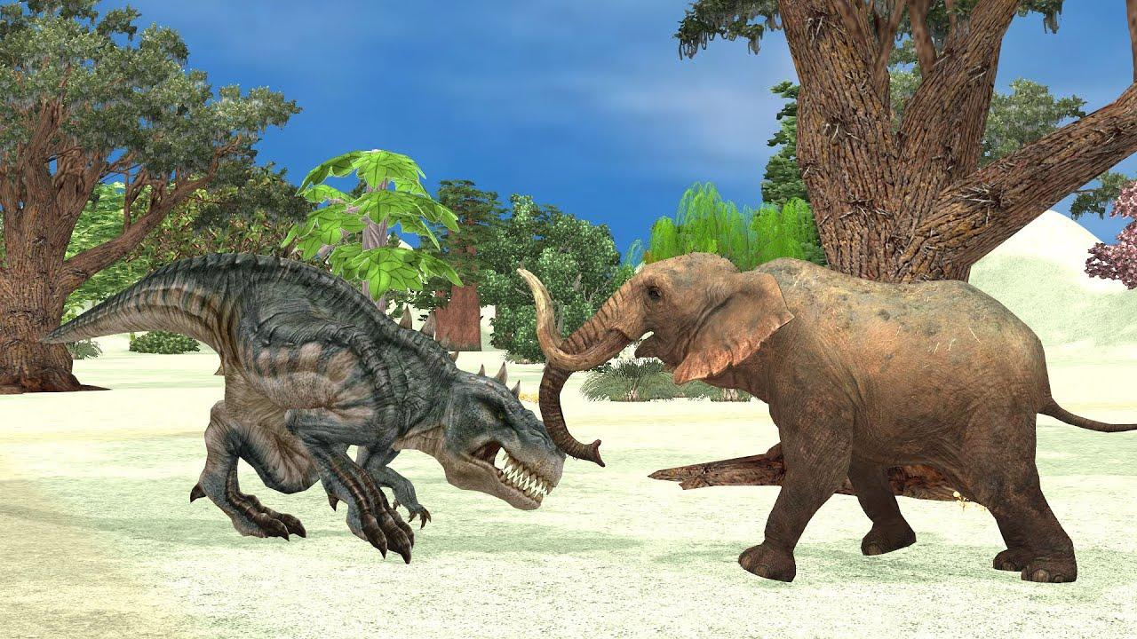 Dinosaur and Elephant Fighting Story | Bedtime | Hindi Kahaniyan| Moral Stories In Hindi Moral Story