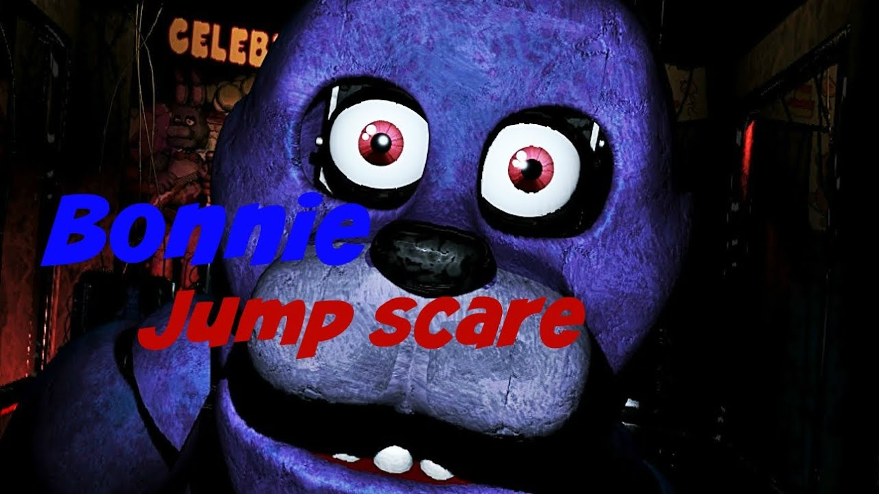 Five Nights At Freddys 2 Bonnie 20 Jump Scare YouTube