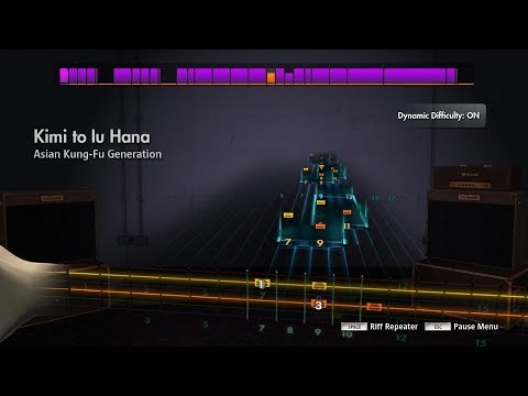 Rocksmith 2014 CDLC Asian Kung-Fu Generation Kimi To Lu Hana