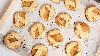Homemade Apple Pie Cookies Recipe - Laura Vitale - Laura in the Kitchen Episode 835