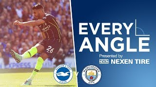 EVERY ANGLE | RIYAD MAHREZ | BRIGHTON v MAN CITY
