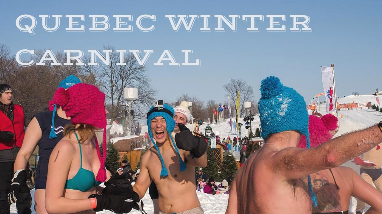 Quebec City Winter Carnival Experience YouTube - Quebec winter carnival