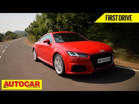 2015 Audi TT Coupe | India Drive Video Review | Autocar India