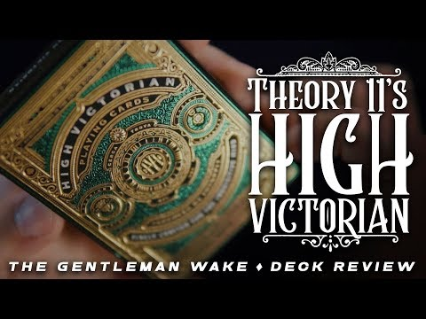 MOST GORGEOUS BOX EVER? High Victorian Deck Review - Theory 11 Playing Cards