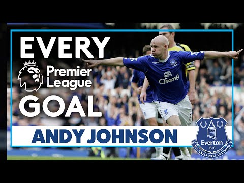 ANDY JOHNSON: EVERY PREMIER LEAGUE GOAL!