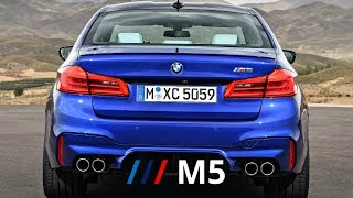 2018 BMW M5 (600 hp) - 0-100 kmh Acceleration, Start Up, Revs & Track Action