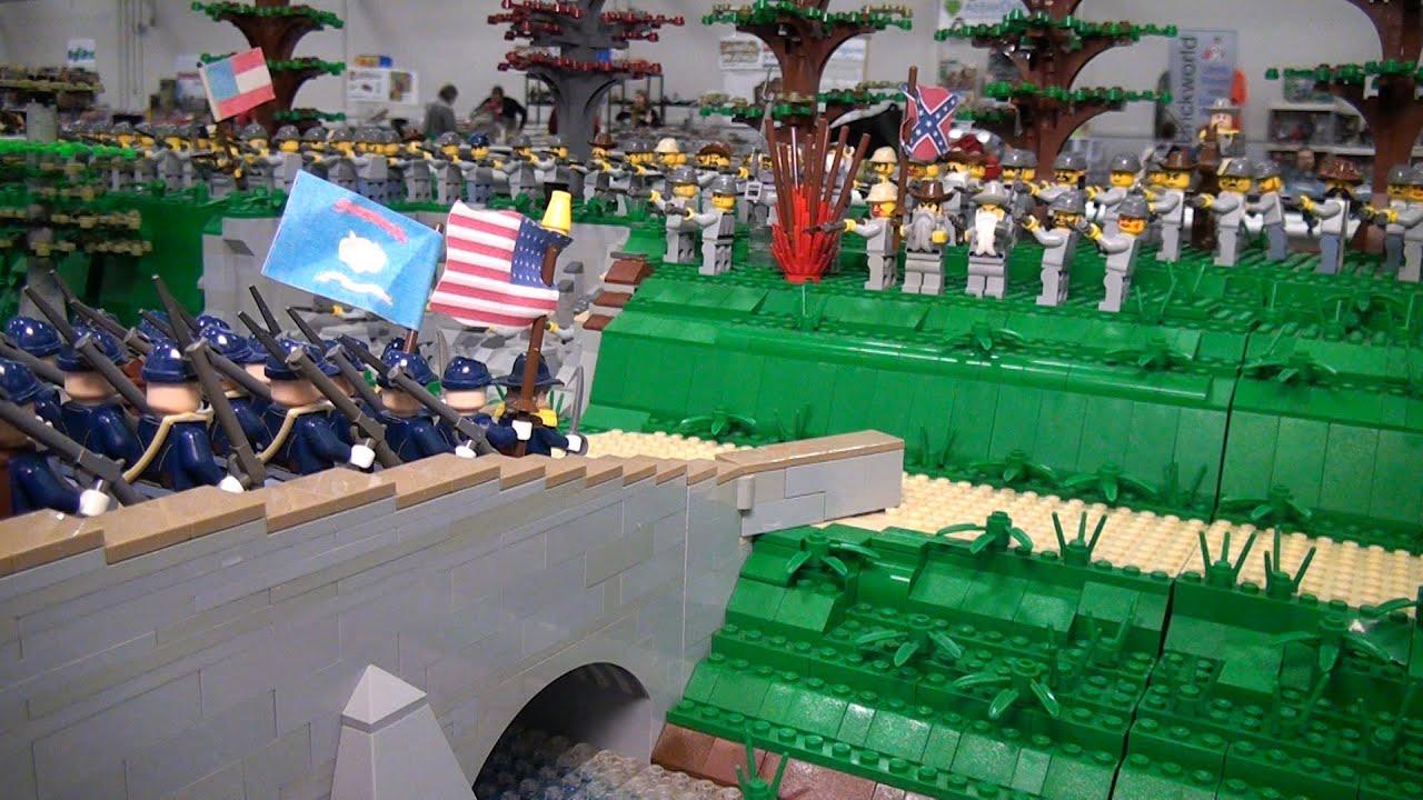 Lego U S Civil War Battle Of Antietam Brickworld Indy 2015 Youtube