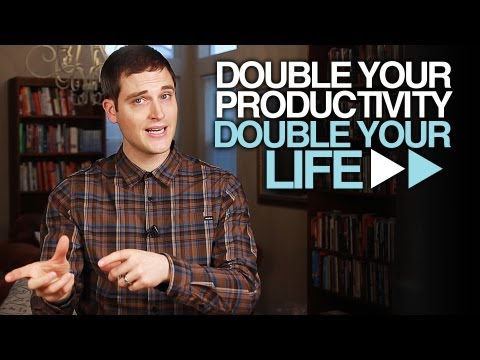 Double YOUR Productivity in 1 Day With 5 Simple Tips - A seanTHiNKs Video