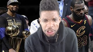 REAL TEARS... CAVS vs WARRIORS GAME 4 HIGHLIGHTS (VERY EMOTIONAL)
