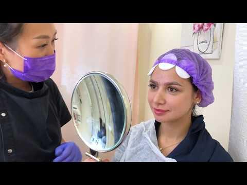 Уроки макияжа бровей видео