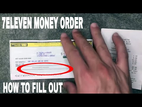 ✅  How To Fill Out 7/11 Western Union Money Orders 🔴