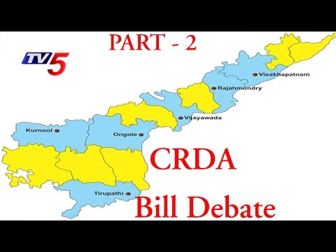 Battle Of Assembly On CRDA Bill | Part - 2 : TV5 News