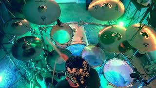 Blue on Black Five Finger Death Punch *HQ* drum cover