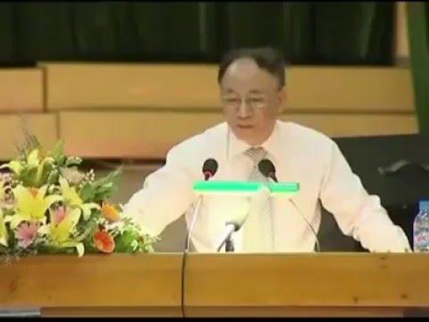 Bài phát biểu của Giáo sư Hoàng Chí Bảo - Re-upload