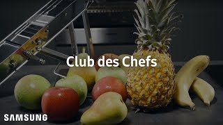 Samsung Club des Chefs #ChefSecrets : How to Make Potato and Fruit Chips