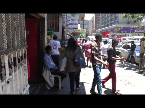 tour of Hillbrow, Johannesburg, South Africa : December 2016