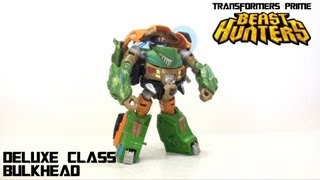 Video Review of the Transformers Prime: Beast Hunters Bulkhead