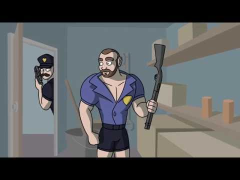 GHOST COPS (Video Game Time: The Hidden Animated)