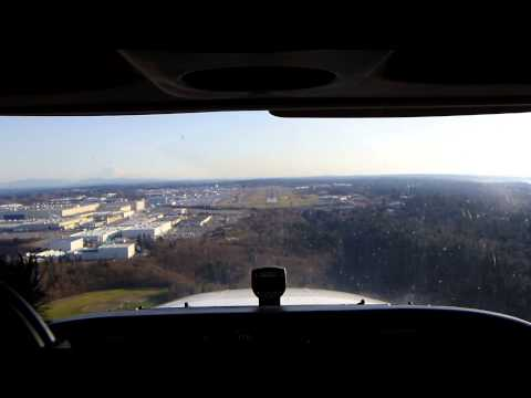 Landing at Paine Field Airport
