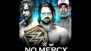 WWE: No Mercy 2016: Preview; Will Dolph Ziggler Retire? SmackDown is Better Than Raw!