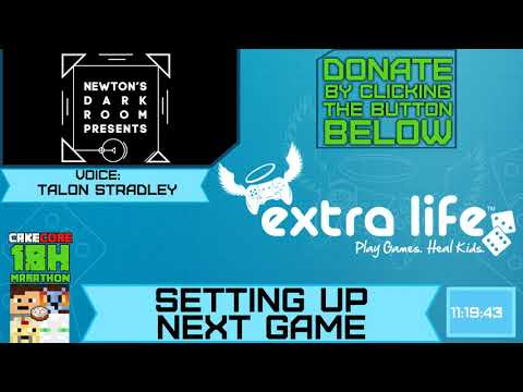 Charity Marathon | Newton's Dark Room Transition