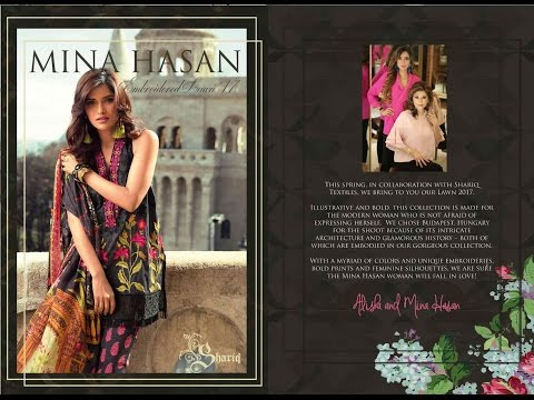 Mina Hasan embroidered Lawn 2017 by Sara Clothes