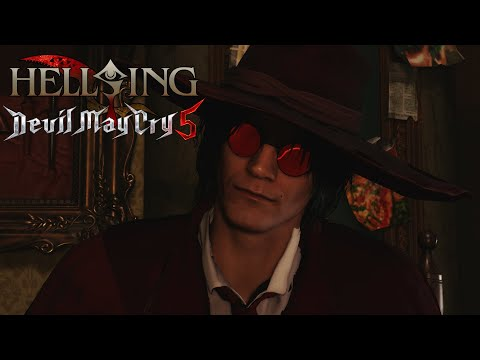 Dante replaces Alucard (Hellsing) - Devil May Cry 5 [MOD] |