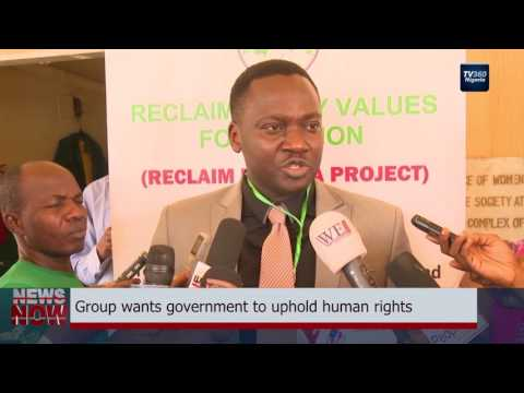 Group wants government to uphold human rights