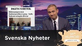 Svenska nyheter - Kulturprofilen och Nya Svenska Akademin