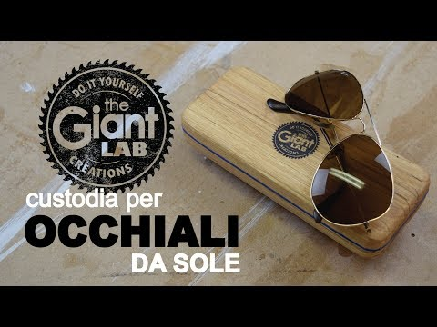 Sunglasses case DIY // Custodia per occhiali FAI DA TE