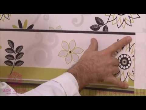видео: Как правильно клеить обои. Школа a.s.creation, Германия